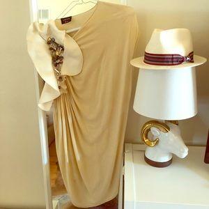 Lanvin asymmetric mini dress-blouse!!!💝